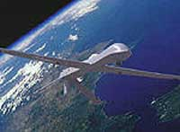 RQ-1A Predator is a long endurance, medium altitude unmanned aircraft system for surveillance and reconnaissance missions. It has a Ku-band satellite data link to provide over-the-horizon mission capabilities.
